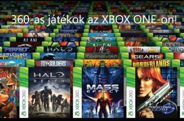 A 360-as játékok amikkel játszhatunk XBOX ONE -on!