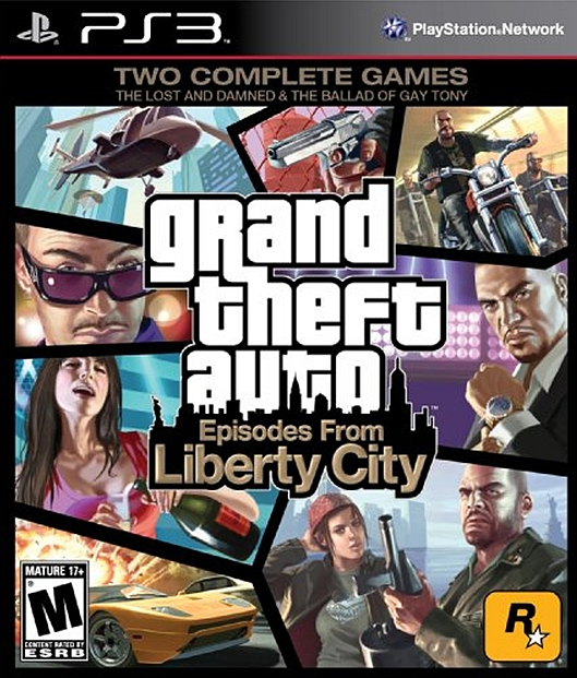 Grand Theft Auto 4 (GTA 4) Episodes from Liberty City