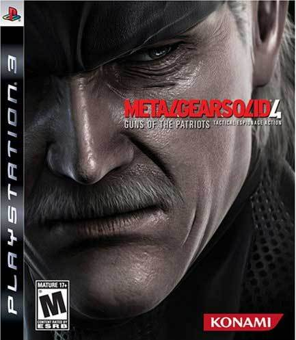 Metal Gears Solid 4 Guns of the Patriots