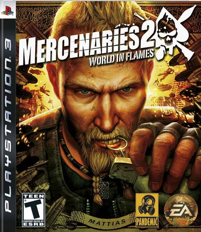 Mercenaries 2 Wold in Flames