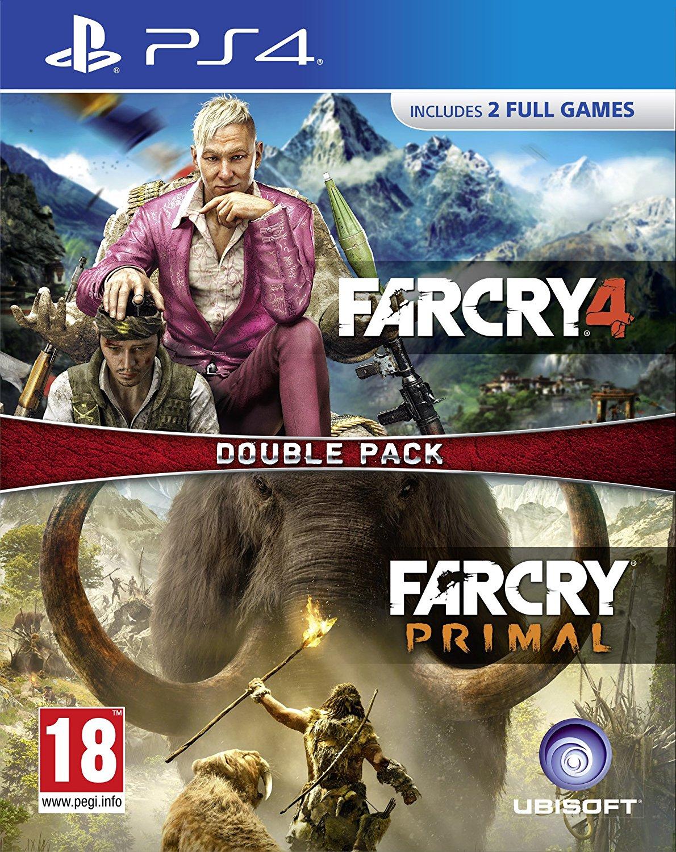 Far Cry 4 + Far Cry Primal double pack (ÚJ)