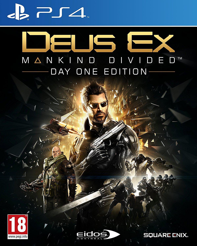 Deus Ex Mankind Divided Day One Edition