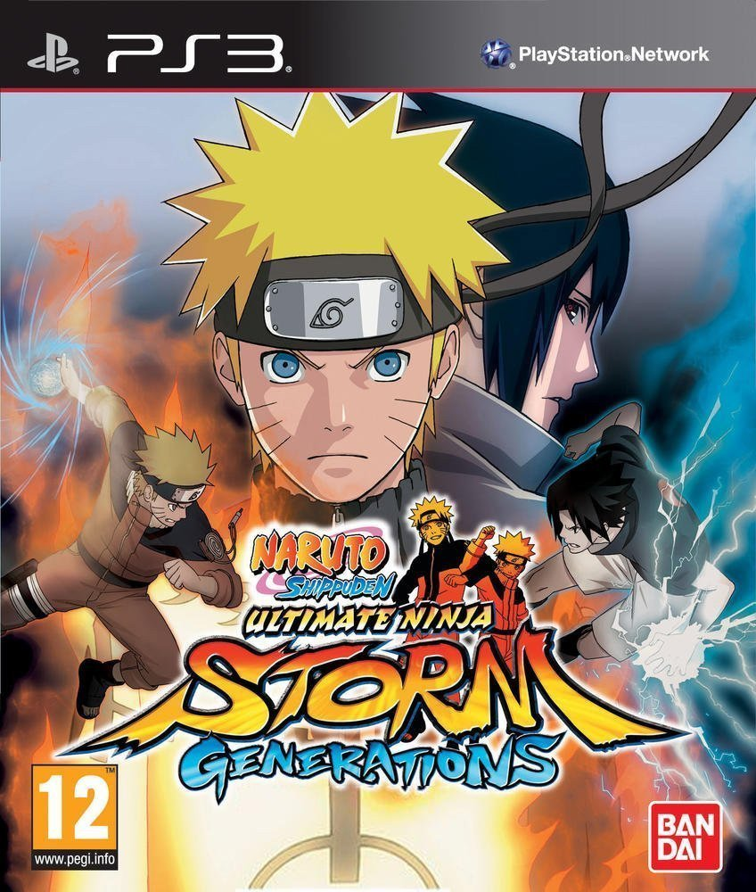 Naruto Shippuden Ultimate Ninja Storm Generations (Új)