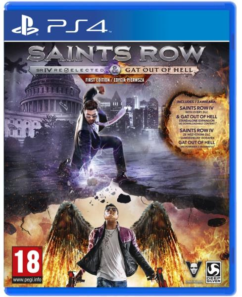 Saints Row IV Re-Elected + Gat Out Of Hell First Edition