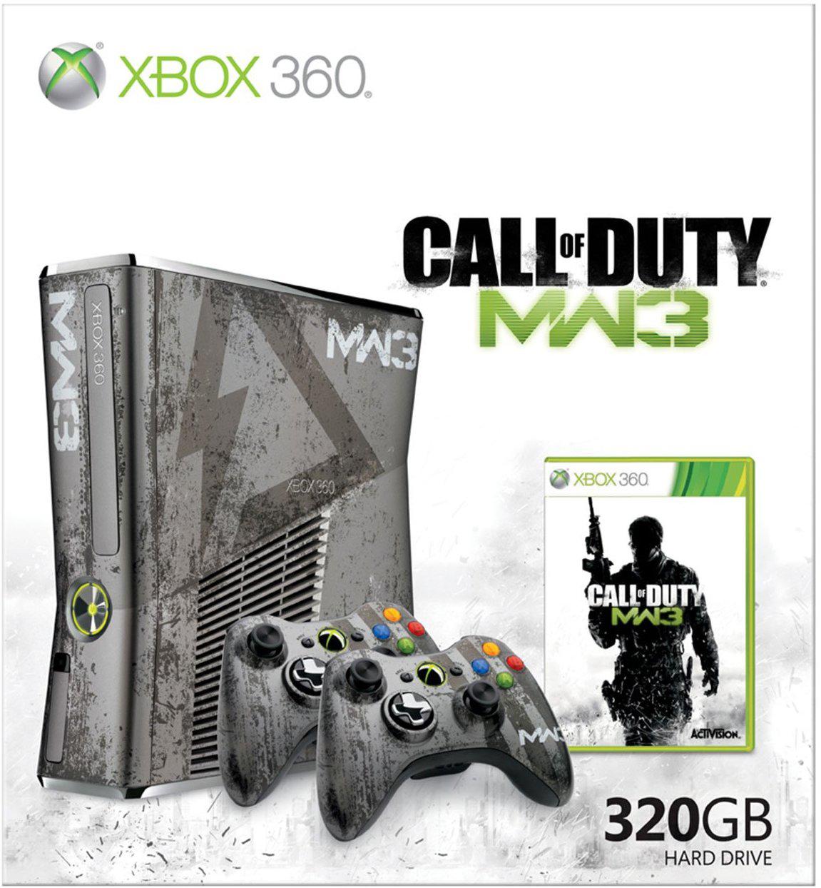 Xbox 360 Call of duty MW3 Limitalt  320gb /dobozzal/