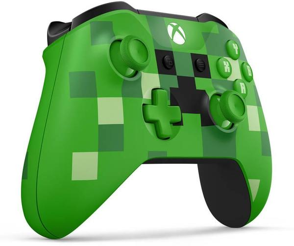 Xbox ONE S Wireless Controller - Minecraft Creeper Limited edition