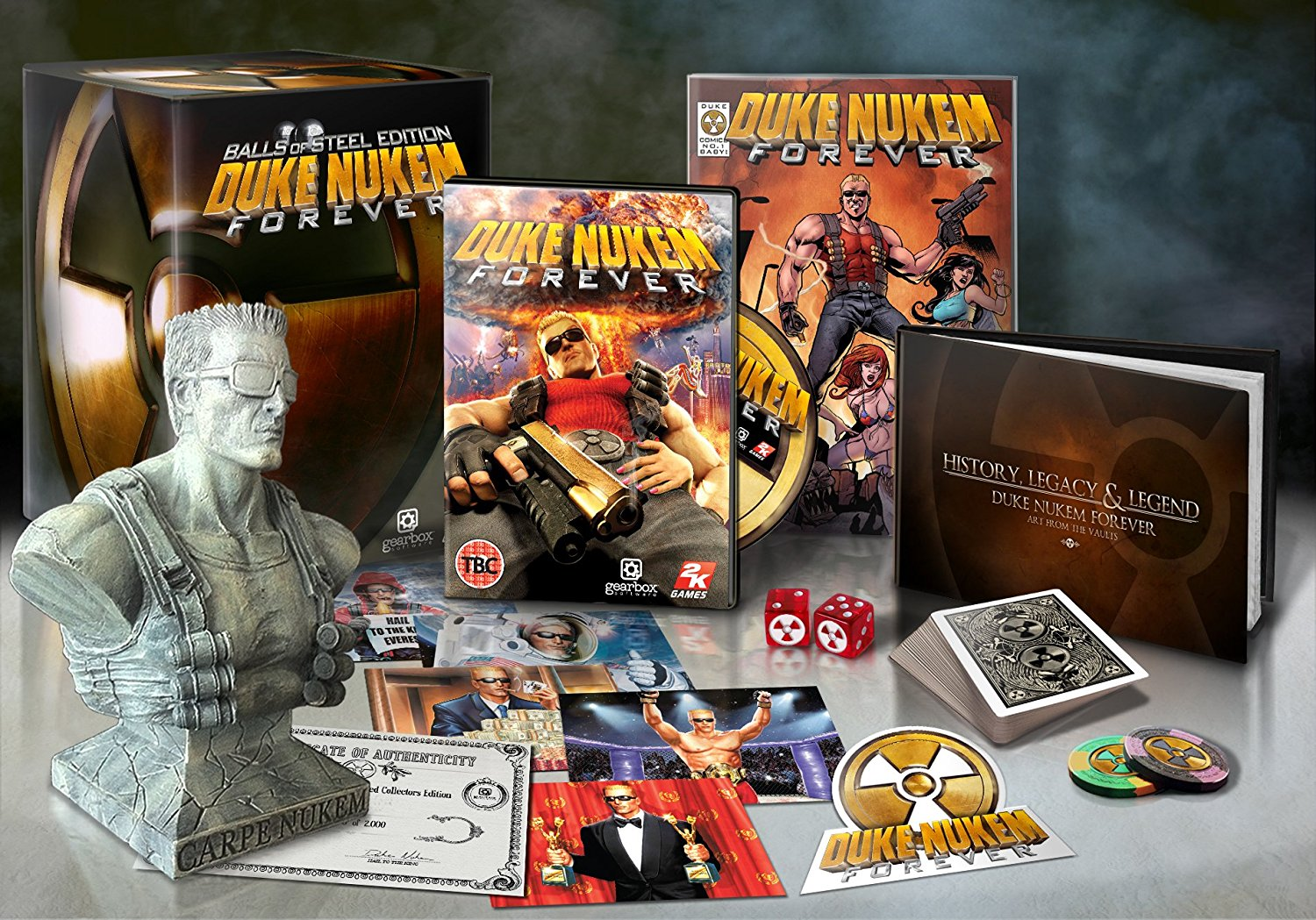 Duke Nukem Forever: Balls of Steel - Collectors' Edition