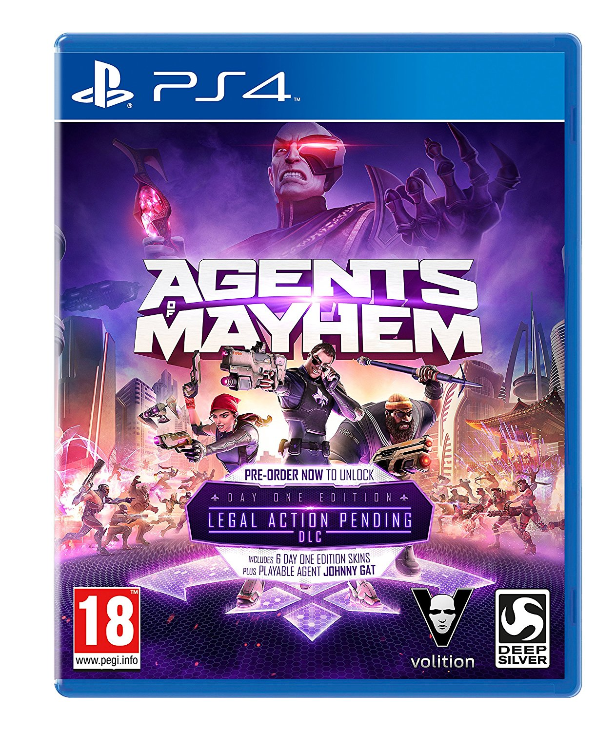 Agents of Mayhem /ÚJ/