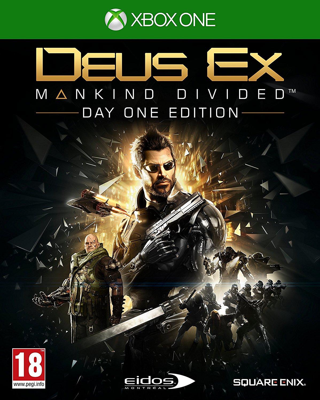 Deus Ex Mankind Divided Day One Edition /ÚJ/
