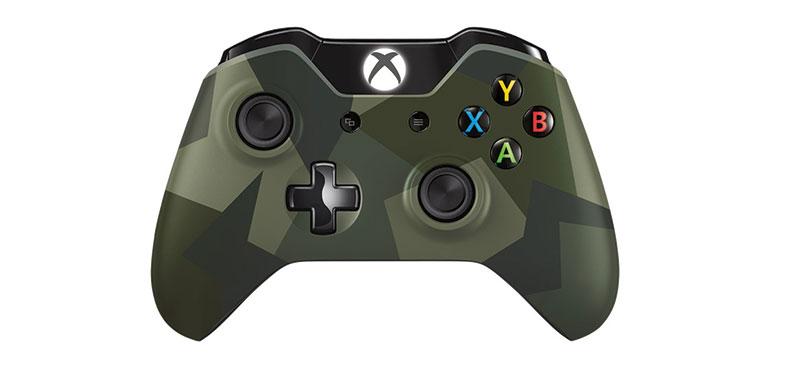 Xbox One Wireless (Vezeték nélküli) Kontroller (Terepmintás)