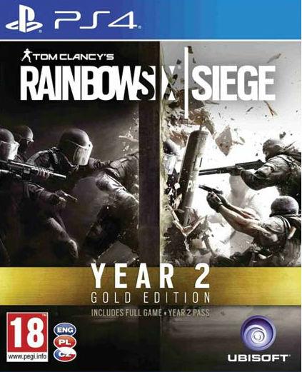 Tom Clancy's Rainbow Six/ Siege Year 2 Gold Edition /ÚJ/