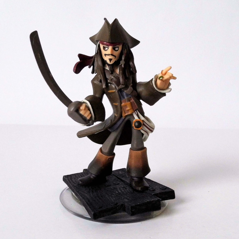 Disney Infinity 1.0 - Captain Jack Sparrow játékfigura