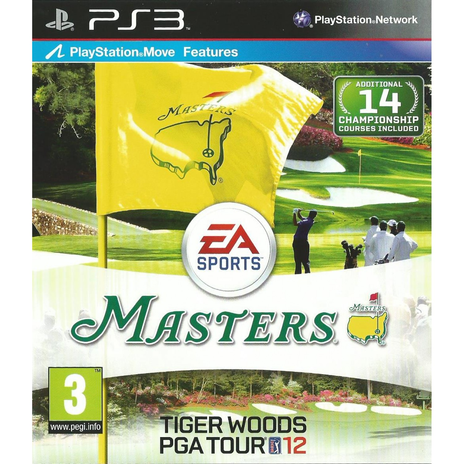 Masters Tiger Woods PGA Tour 12