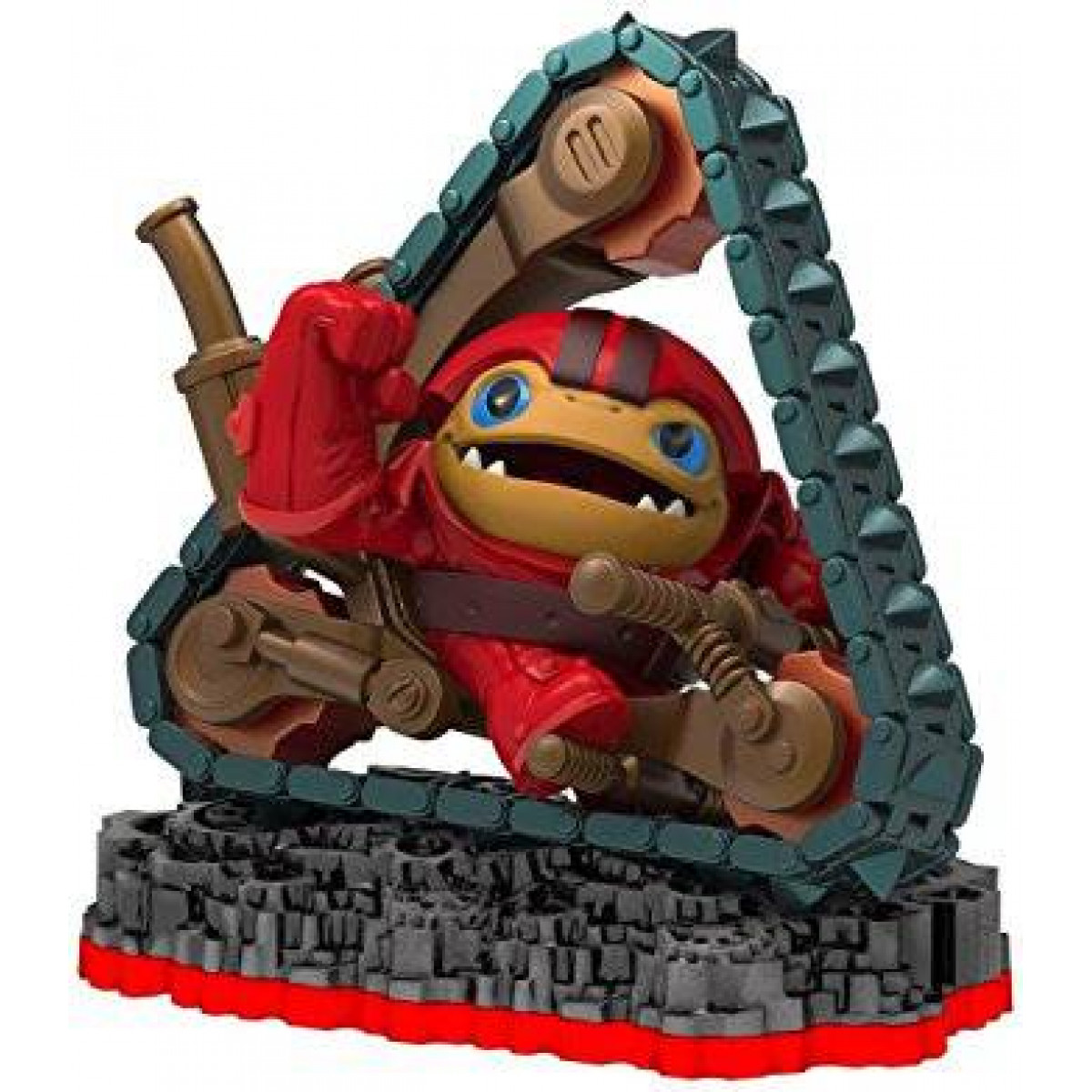 Skylanders Trap Team - Tread Head játékfigura