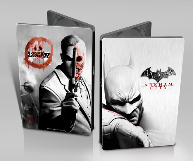 Batman Archam City /fémdobozos/