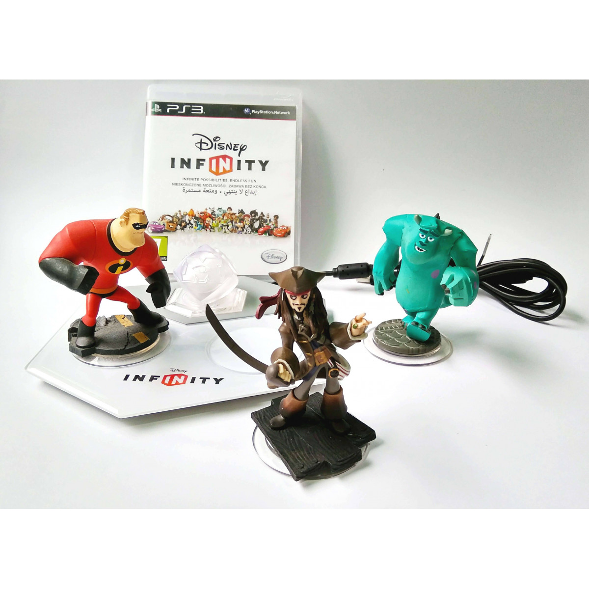 Disney Infinity 1.0 - Kezdőcsomag PS3 (használt)