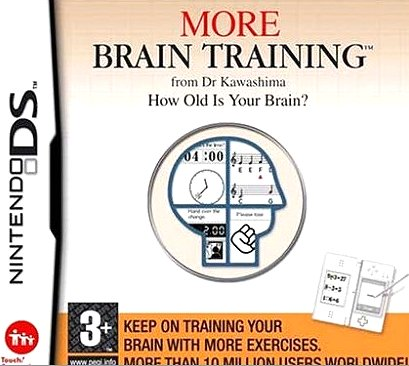 More Brain Training Nintendo DS