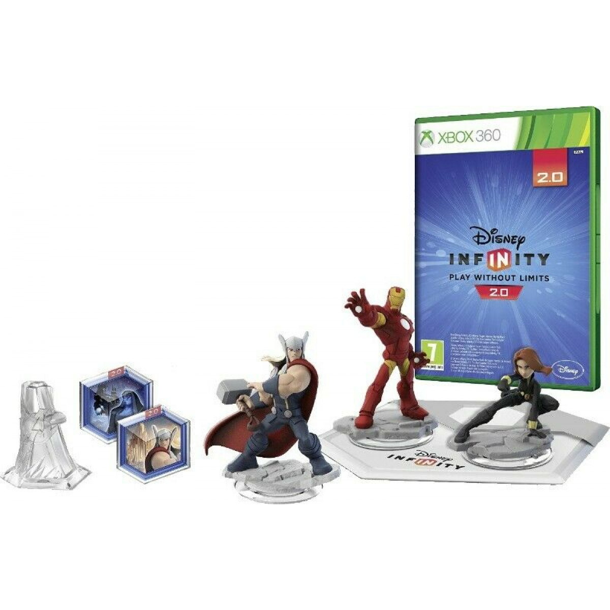 Disney Infinity 2.0  Xbox 360 kezdőcsomag