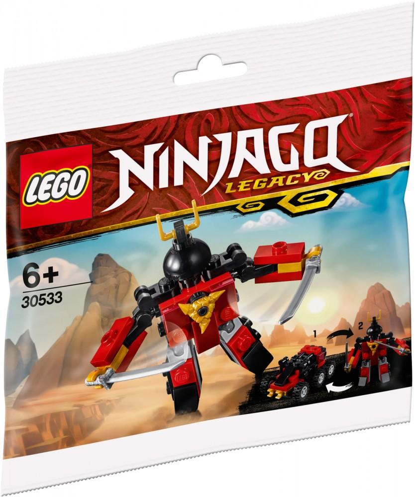 LEGO NINJAGO Legacy 30533 Sam-X /ÚJ/