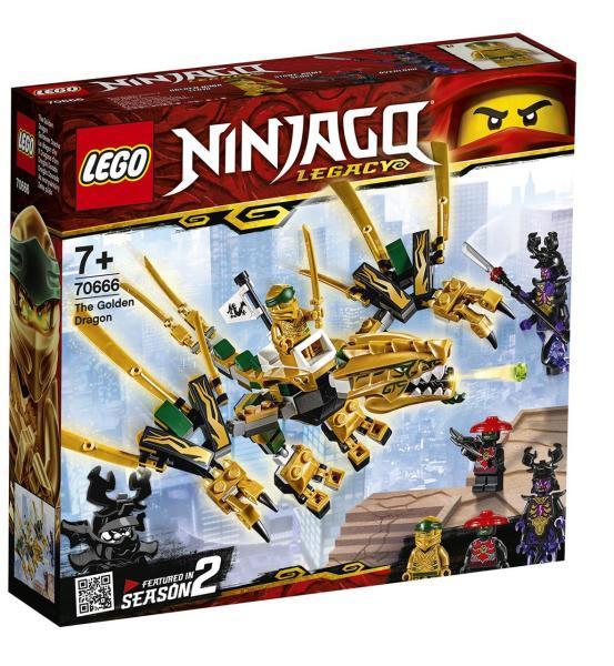 LEGO NINJAGO 70666 Az aranysárkány /ÚJ/