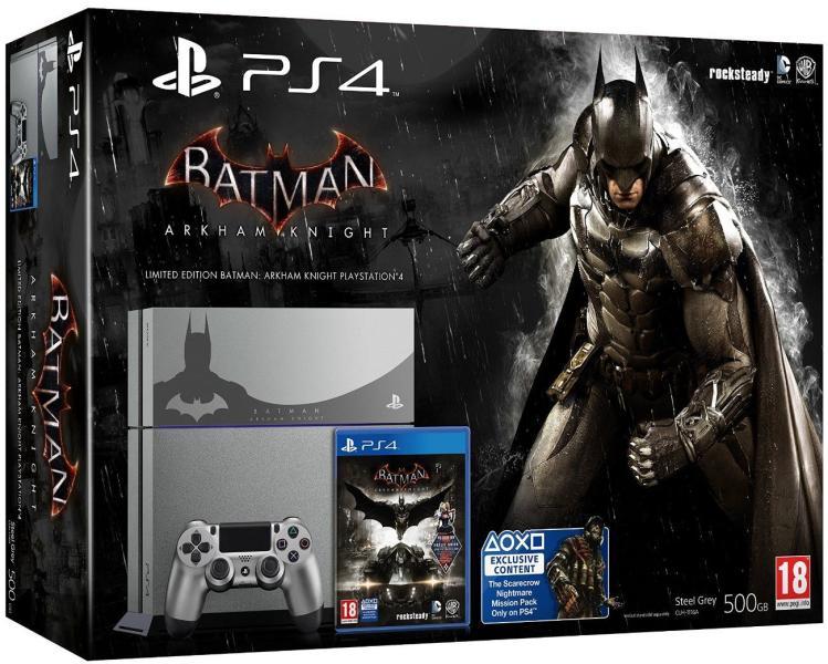PS4 500GB Batman /Dobozos/