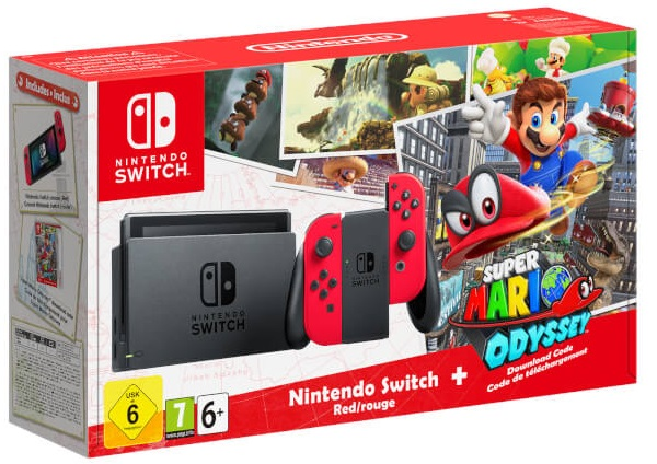 Nintendo Switch Red