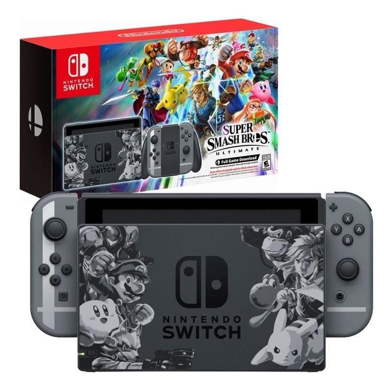 Nintendo Switch + Super Smash Bros. Ultimate Edition (Limitált kiadás)