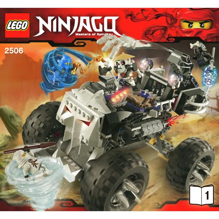 LEGO 2506 - Ninjago - Koponyakocsi - Skull Truck
