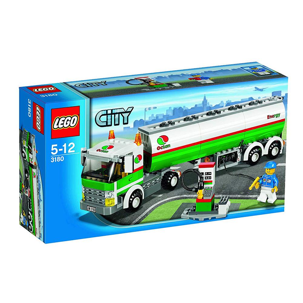 LEGO 3180 - Tartálykocsi - Tank Truck