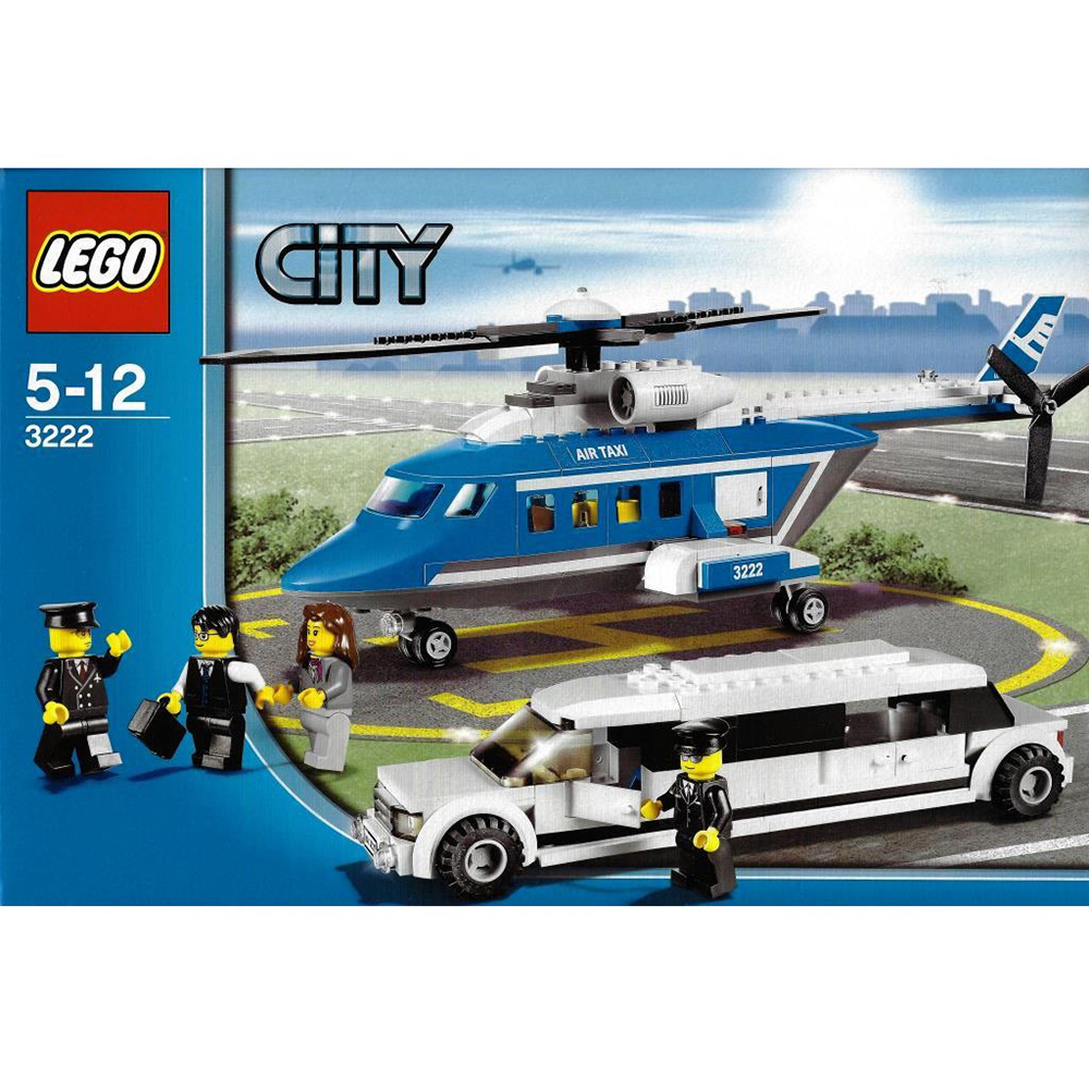 LEGO 3222 - Helikopter és limuzin - Helicopter and Limousine