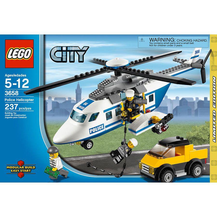 LEGO 3658 - Rendőrségi helikopter - Police Helicopter