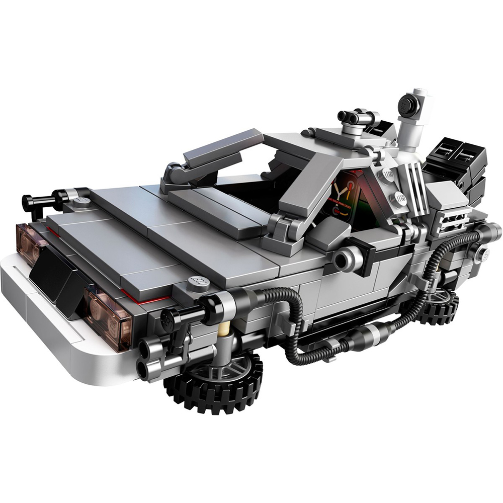 LEGO 21103 - Vissza a jövőbe - DeLorean időgép - The DeLorean Time Machine