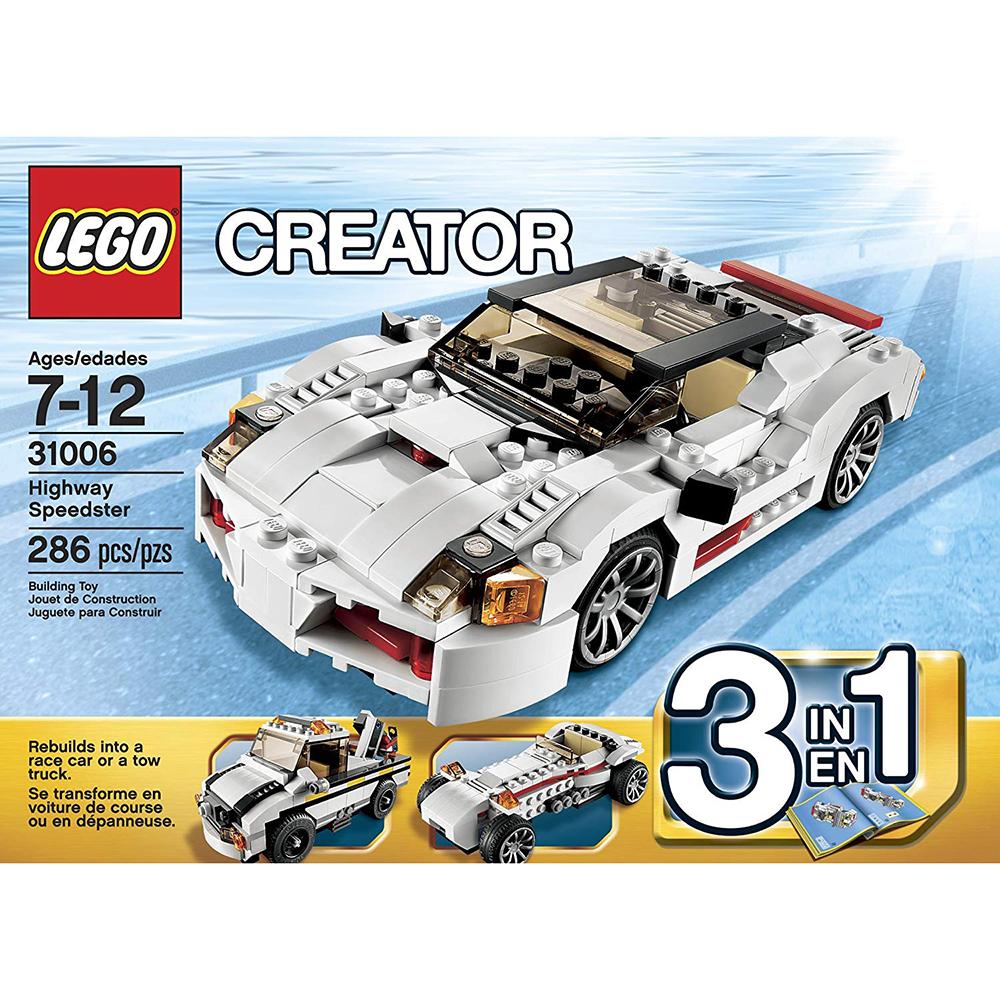 LEGO 31006 - Országúti versenygép - Highway Speedster