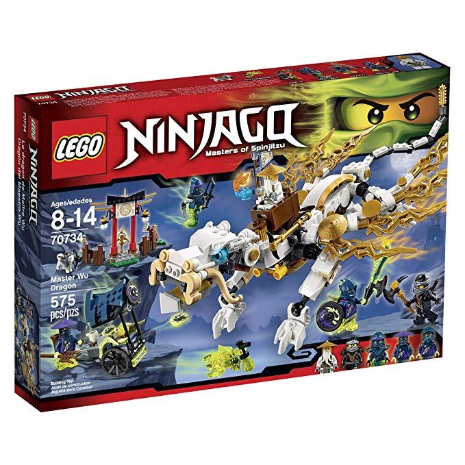 LEGO Ninjago 70734 - Wu sárkánymester - Master Wu Dragon
