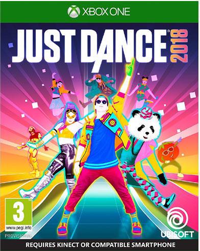 Just Dance 2018 /csak lemez/