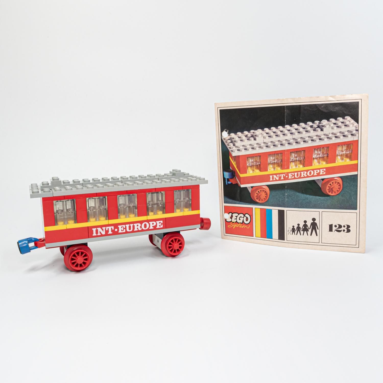 LEGO 123 - Személykocsi - Passenger Coach