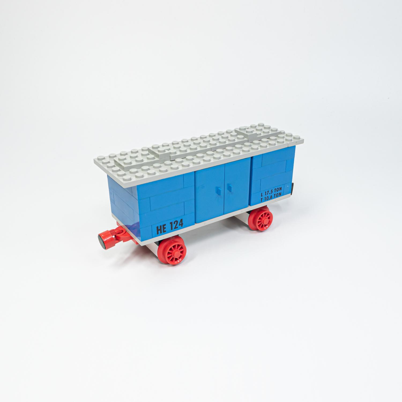 LEGO 124 - Áruszállító kocsi - Goods Wagon