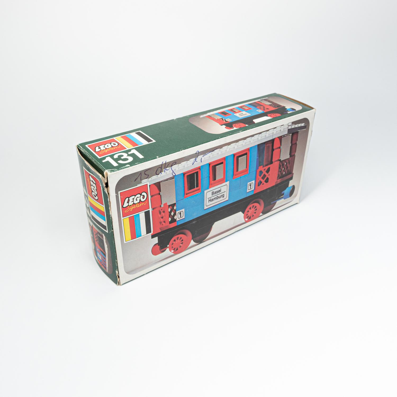 LEGO 131 - Személykocsi - Passenger Coach