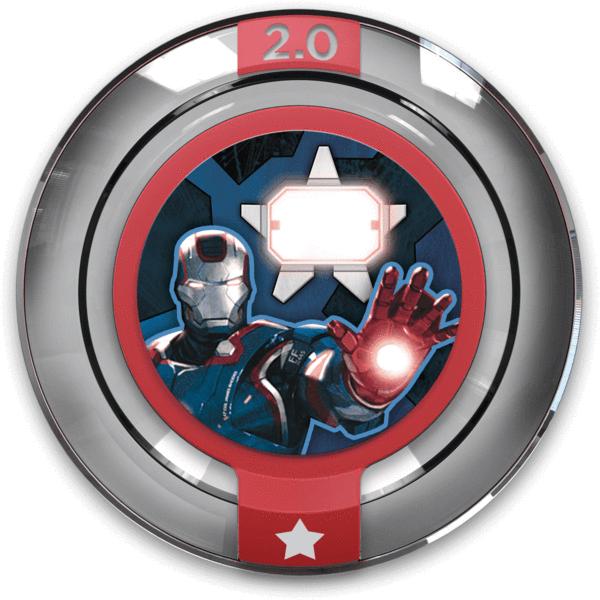 Disney Infinity 2.0 - Marvel Team Up Iron Patriot Power Disc 300177