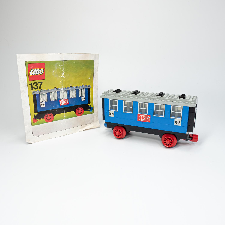 LEGO 137-2 - Hálókocsi - Passenger Sleeping Car