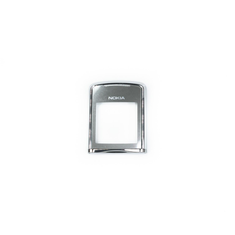 Nokia 8800 Sirocco Silver felső keret + üveg