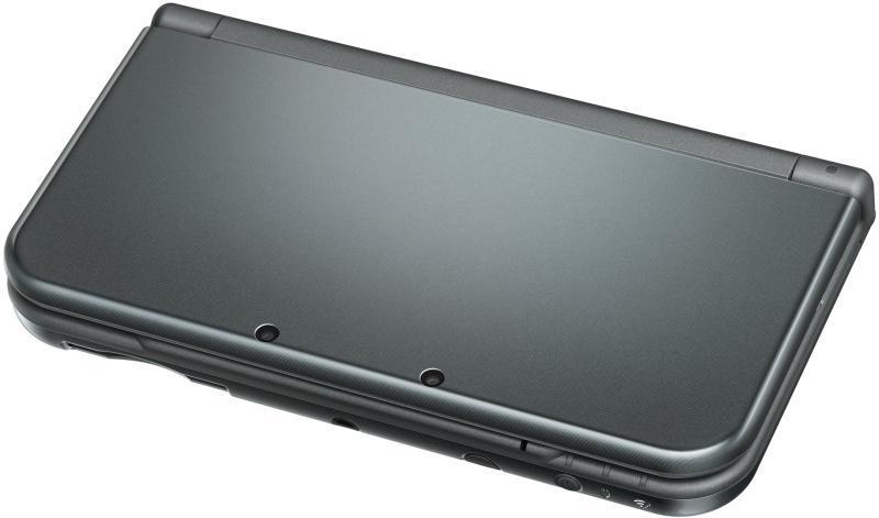 Nintendo 3DS XL (metallic black )