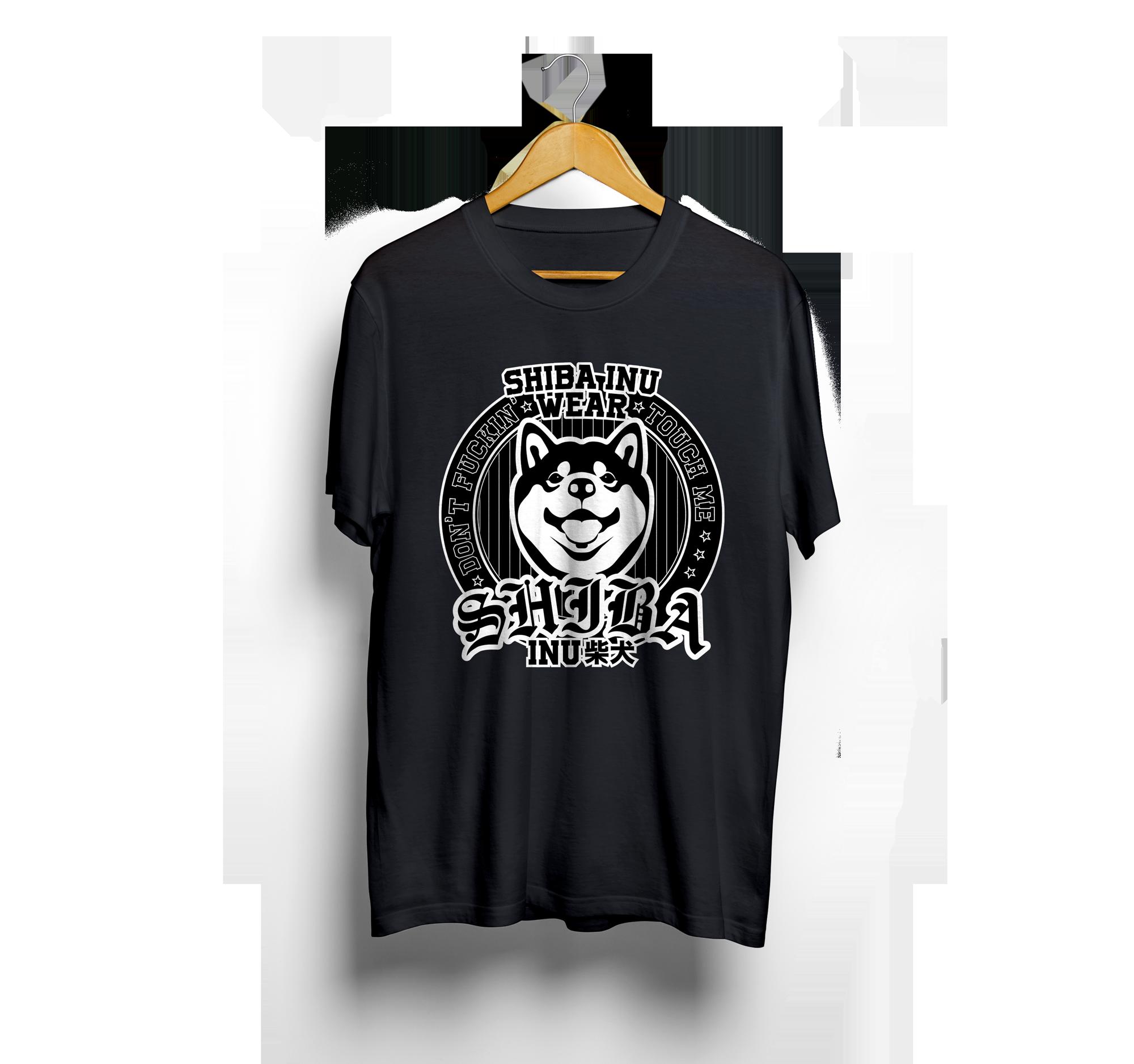 Shiba Inu Póló (Fekete)