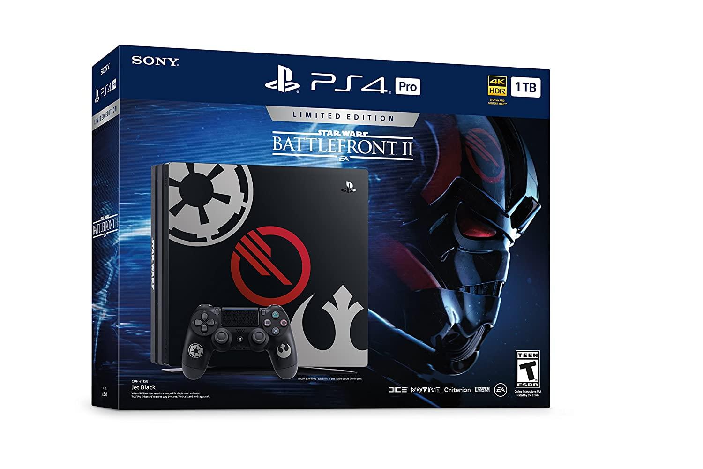 PlayStation 4 Pro ( PS4 ) 1TB STAR WARS Limited edition Star Wars Battlefront II