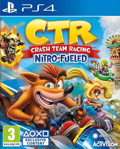 Crash Team Racing: Nitro-Fueled (használt)