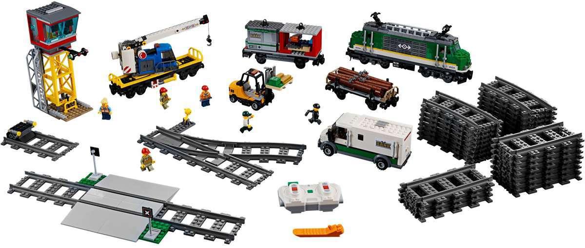 LEGO City 60198 Tehervonat