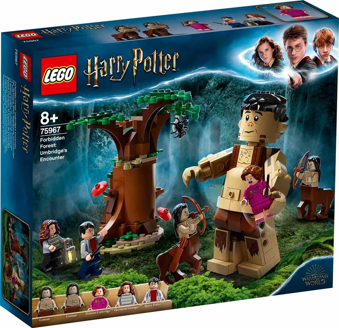 LEGO Harry Potter 75967 A Tiltott Rengeteg: Összecsapás Umbridge-dzsel