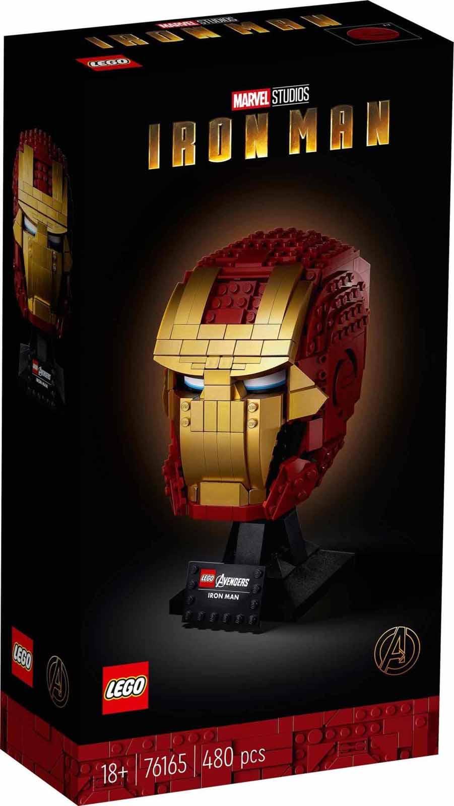LEGO Super Heroes 76165 Vasember sisak