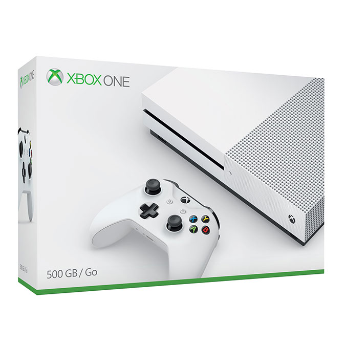Xbox One S 500GB Fehér