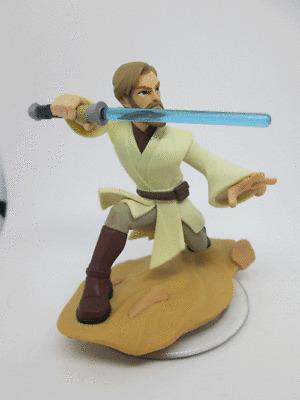 Disney Infinity 3.0 Star Wars Character Obi Wan Kenobi #inf 1000201 / HIBÁS /